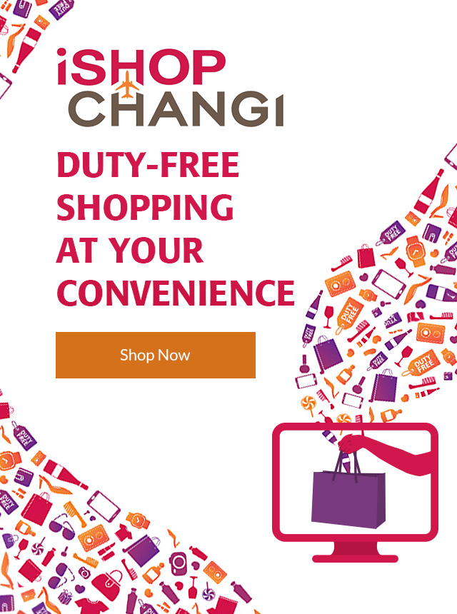 iShopChangi duty free shopping at your convenience