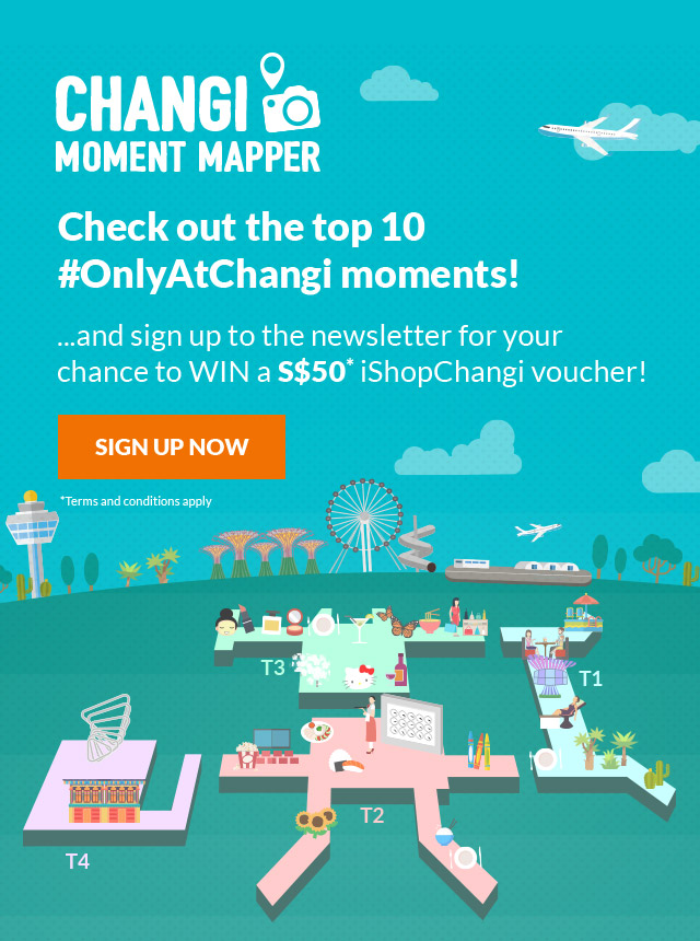 Changi Moment Mapper