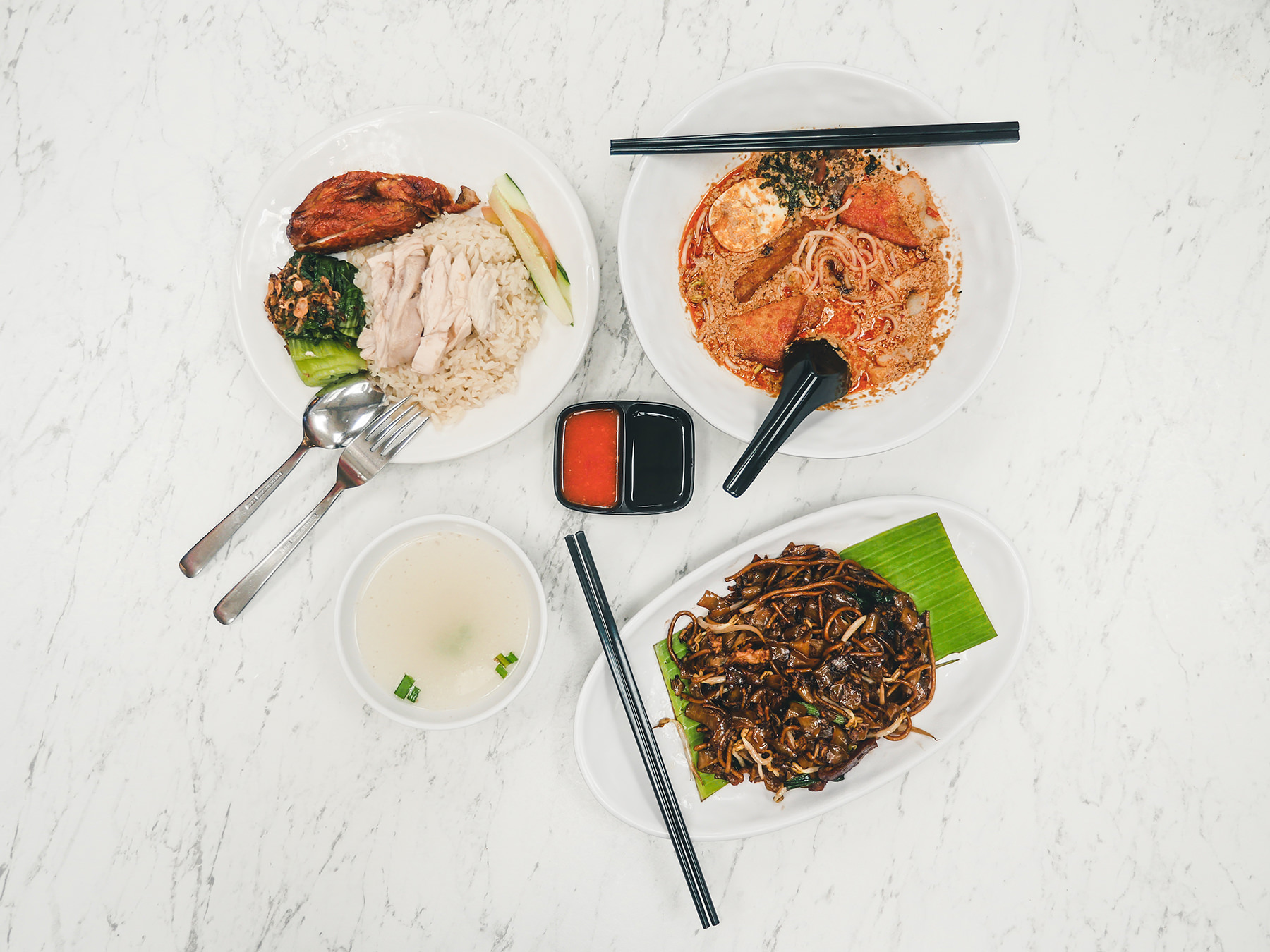 What: Singapore Food Street<br>Where: Terminal 3 Departure Transit Hall Lounge (Central)