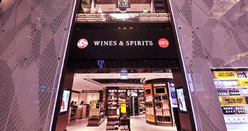 Wine and Spirits Duty Free Duplex Store