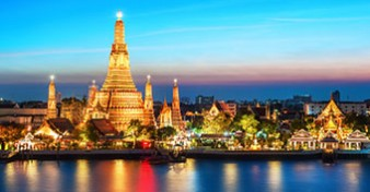 Fly from Gold Coast to Bangkok